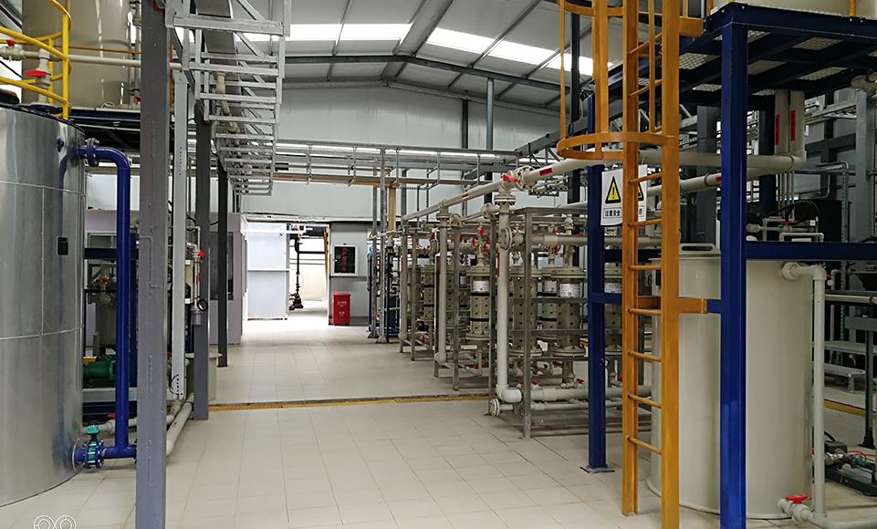 工业废水处理特效脱氨膜装备技术