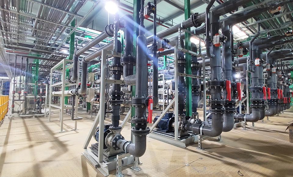 工业废水处理电渗析脱盐技术