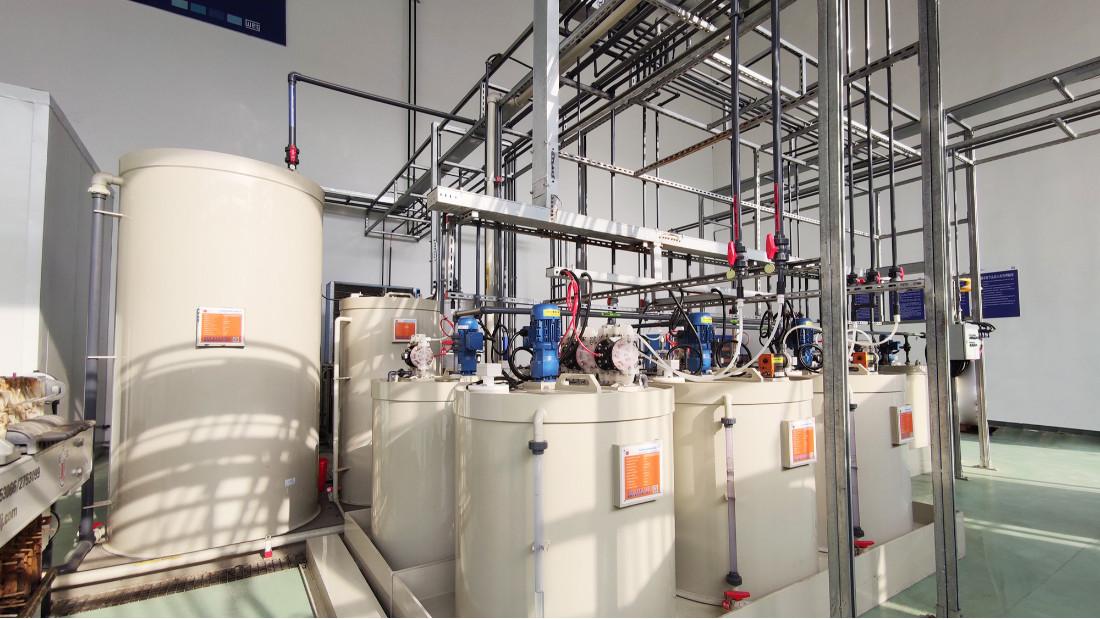 盛利维尔新材料废水中水回用系统工程