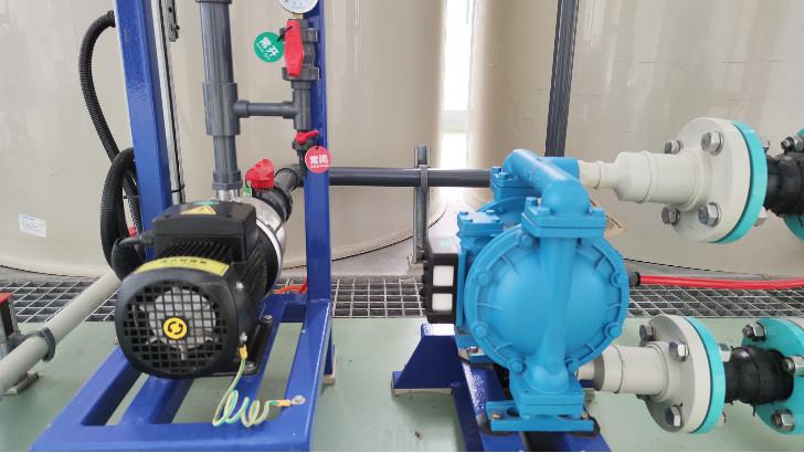 工业废水处理设备中常规水泵规格参数单位