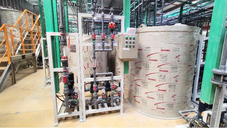 废水处理设备中化工塑料防腐泵密封材质选择