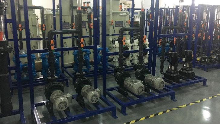 污水处理设备耐腐蚀塑料自吸泵使用注意事项
