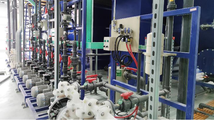 工业废水零排放工程纯水设备如何清洗部件