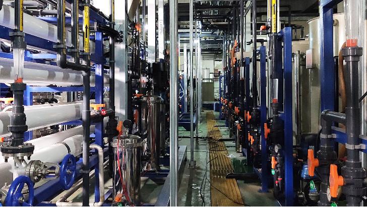 电子半导体废水处理方法