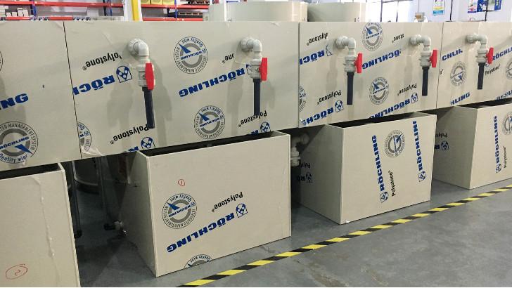 电镀废水处理中电镀槽的结构组成