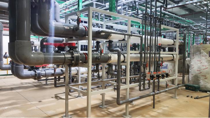 电镀工业园区电镀废水处理超滤膜工艺