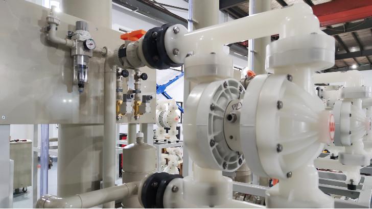 污水处理设备耐碱磁力循环泵常见故障检修方法