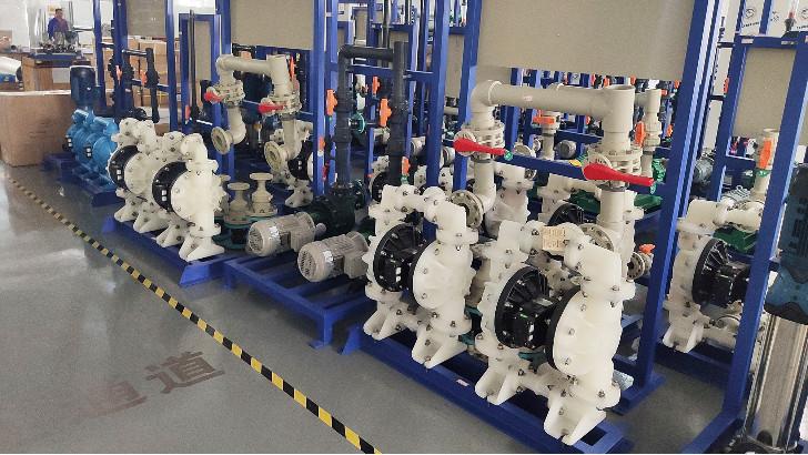 污水处理设备中耐酸碱磁力泵如何维修