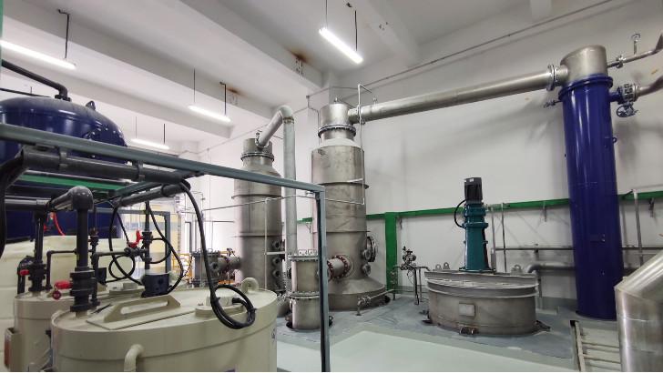 废水零排放技术中机械蒸汽再压缩循环蒸发基本原理