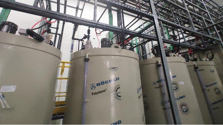 废水零排放技术中卤水浓缩器的构造及工艺