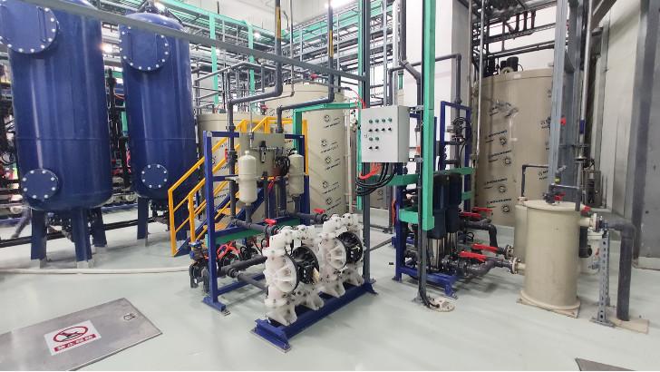 锂电池废水处理解决方案