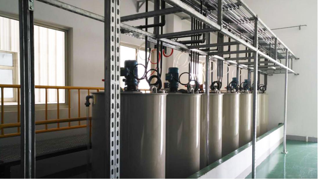 德昌电机精密加工废水处理工程