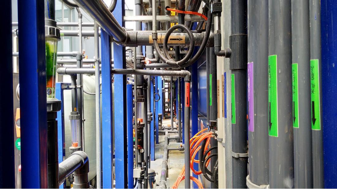 常熟金华精密加工废水处理中水回用工程