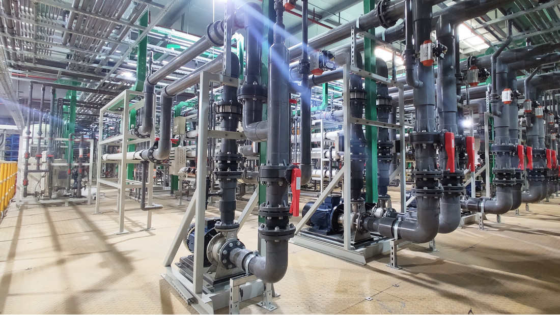 电镀废水处理零排放