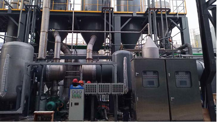 污水处理设备中MVR蒸发器原理和设备组成