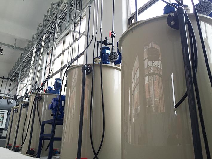 汉钟精机乳化液废水处理