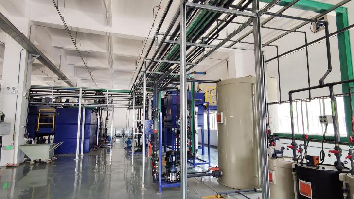 电镀废水处理设备技术工艺流程简析