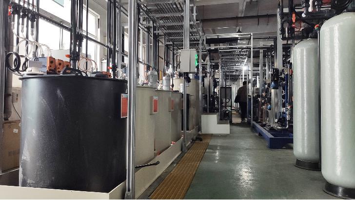 江苏某企业电子含氟废水处理工艺流程