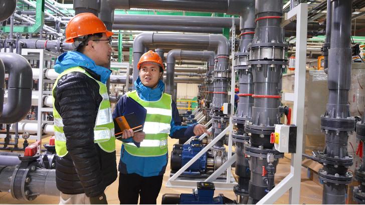 电镀废水处理设备中电泳漆循环泵如何安装