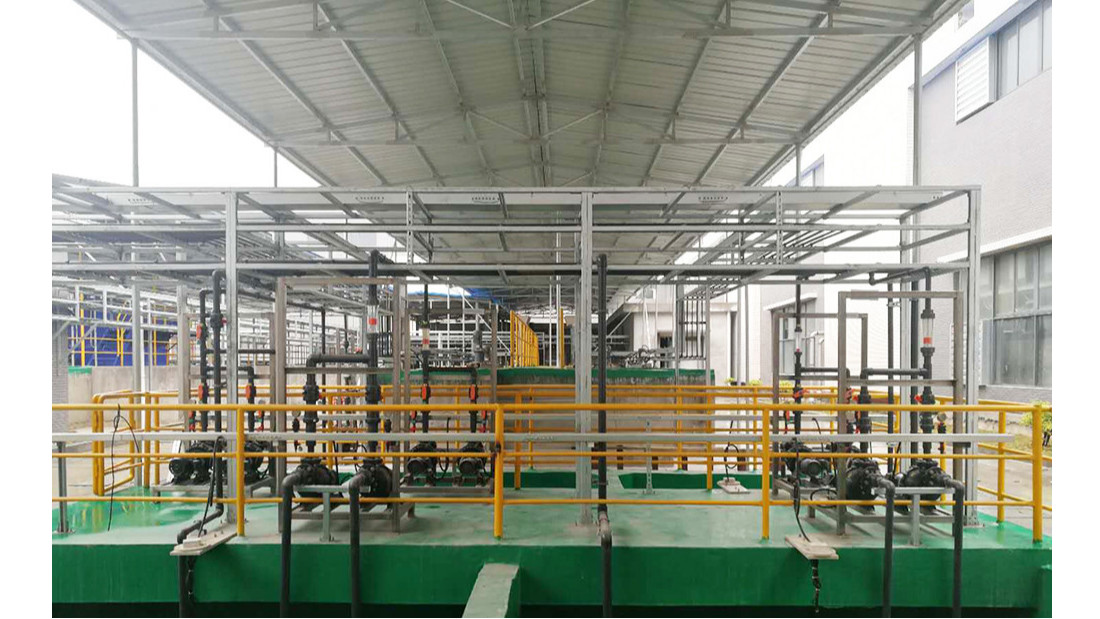 广东开易电镀废水处理中水回用工程