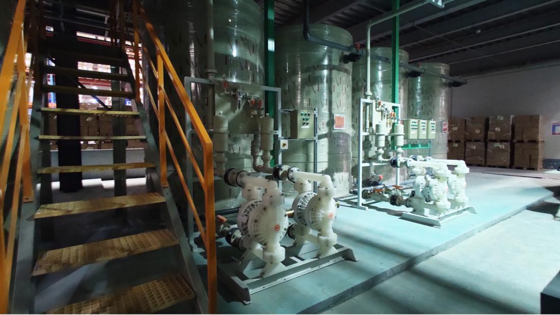 含氟废水处理吸附法工艺