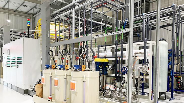 维美德中国考察西安表面处理废水处理零排放工程项目