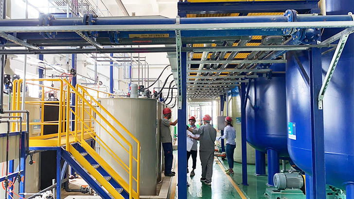 依斯倍与江苏电科正式签订废水零排放项目合作协议