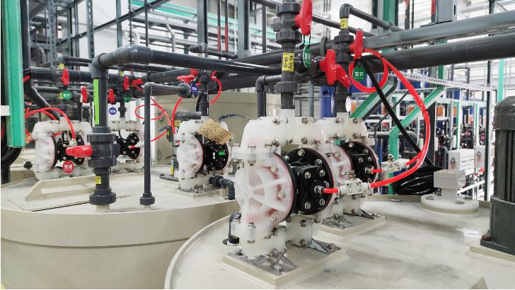 工业污水处理工程施工部署原则