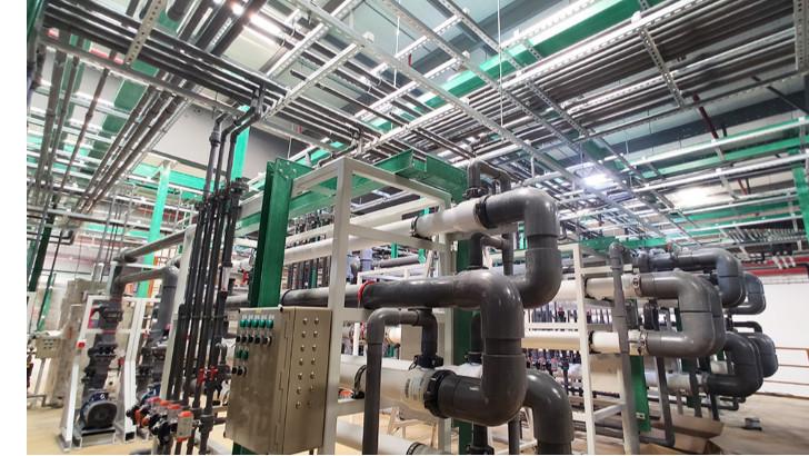 电镀废水处理强制闭路循环