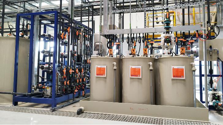 依斯倍工业废水处理设备加药系统荣获2020苏州市工业设计产品优秀奖