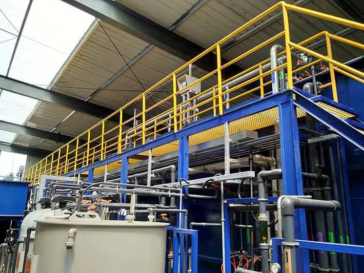 精密加工废水处理零排放