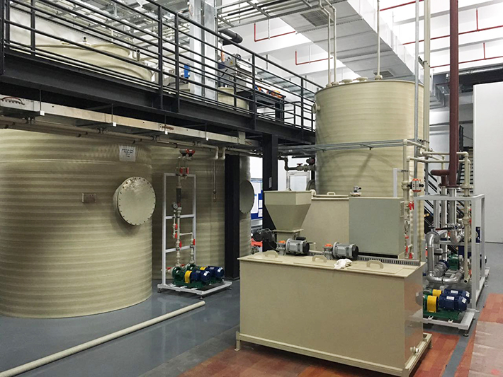 博世汽车机加工含油废水处理零排放工程项目现场
