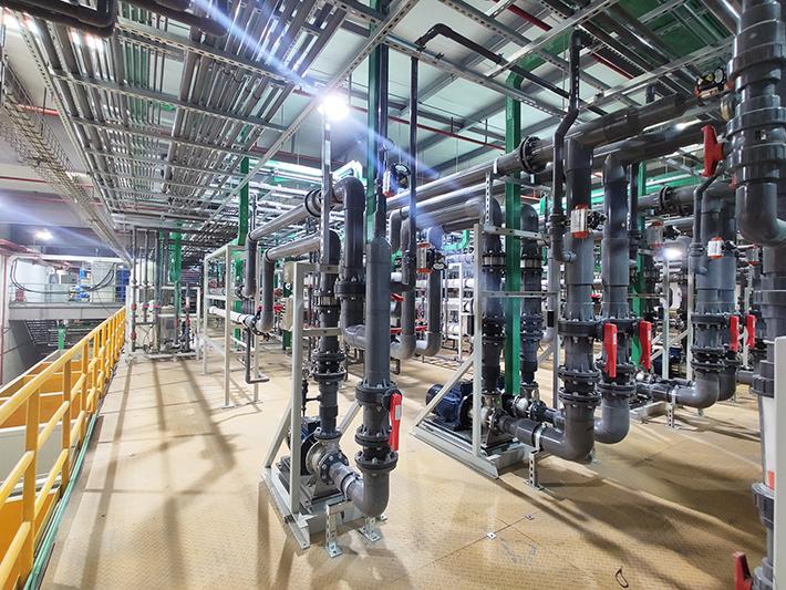 科勒卫浴电镀废水处理零排放项目现场