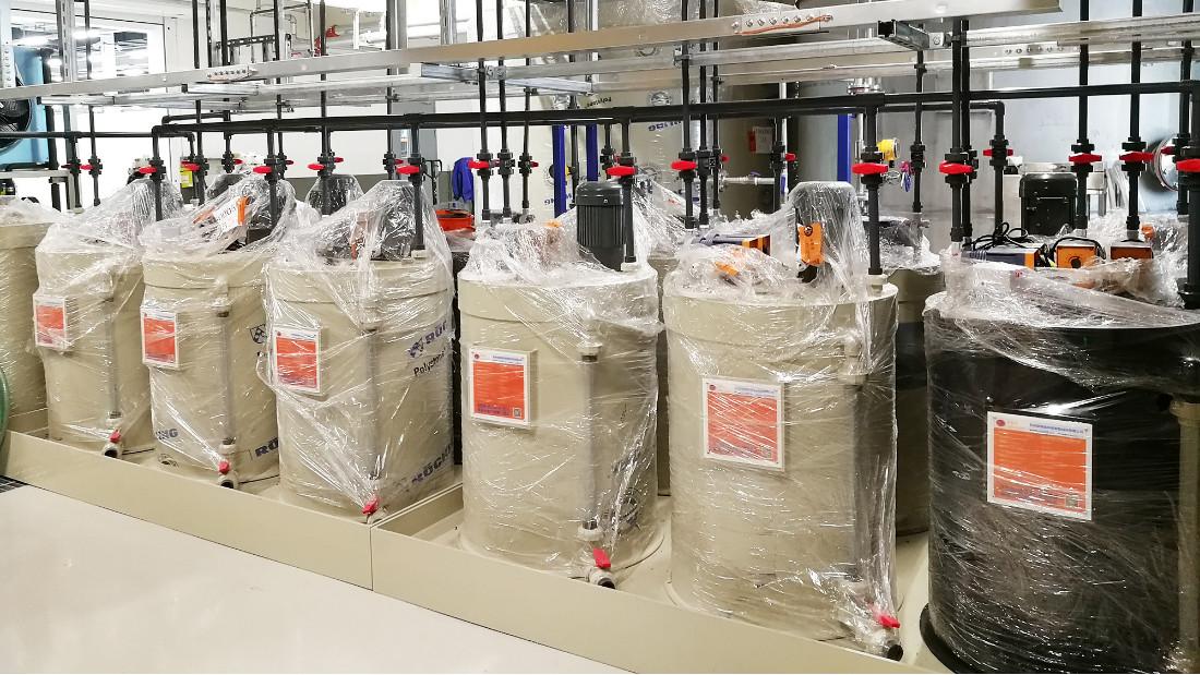 华苏塑料PVC新材料废水处理工程
