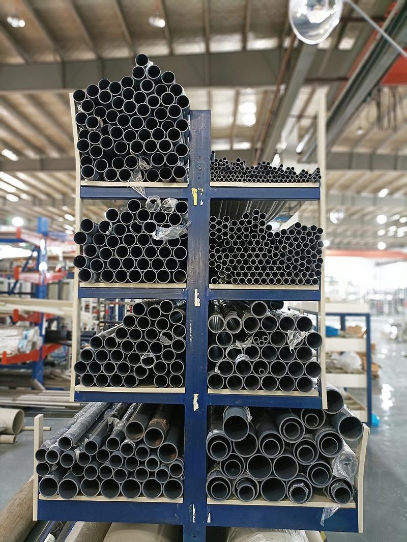 电镀废水处理工程中的(PVC-C)给水管