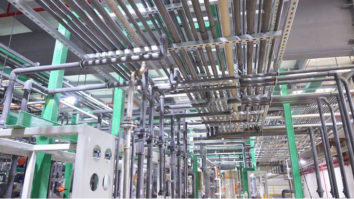 废水零排放工程中的高密度聚乙烯(HDPE)排水管