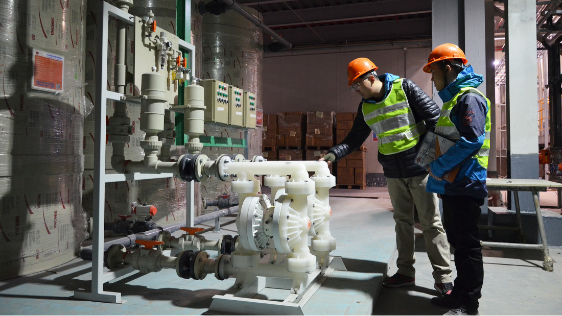 污水处理设备中水泵性能参数怎么计算