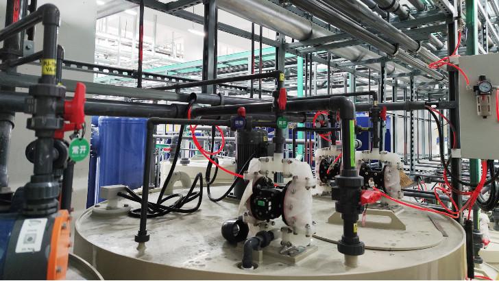 工业废水处理中污水循环自吸泵如何安装
