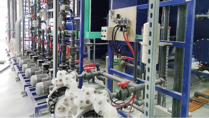 工业废水处理中加药计量泵故障处理