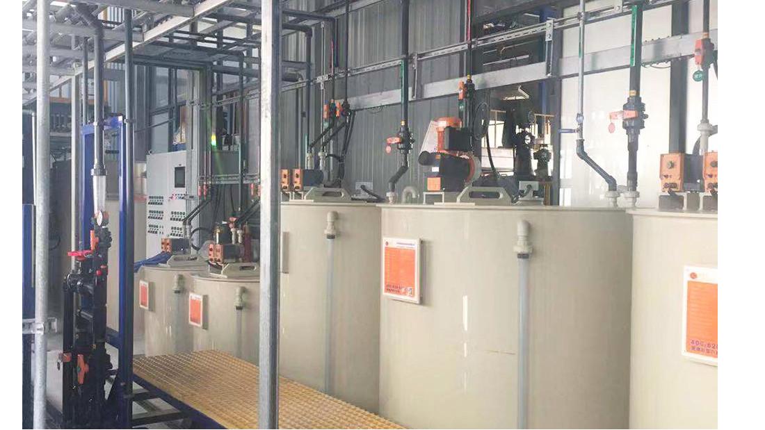 润和纳米新材料废水处理工程
