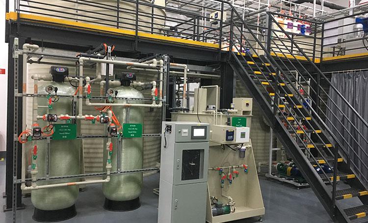 博世集团机加工清洗含油废水处理工程